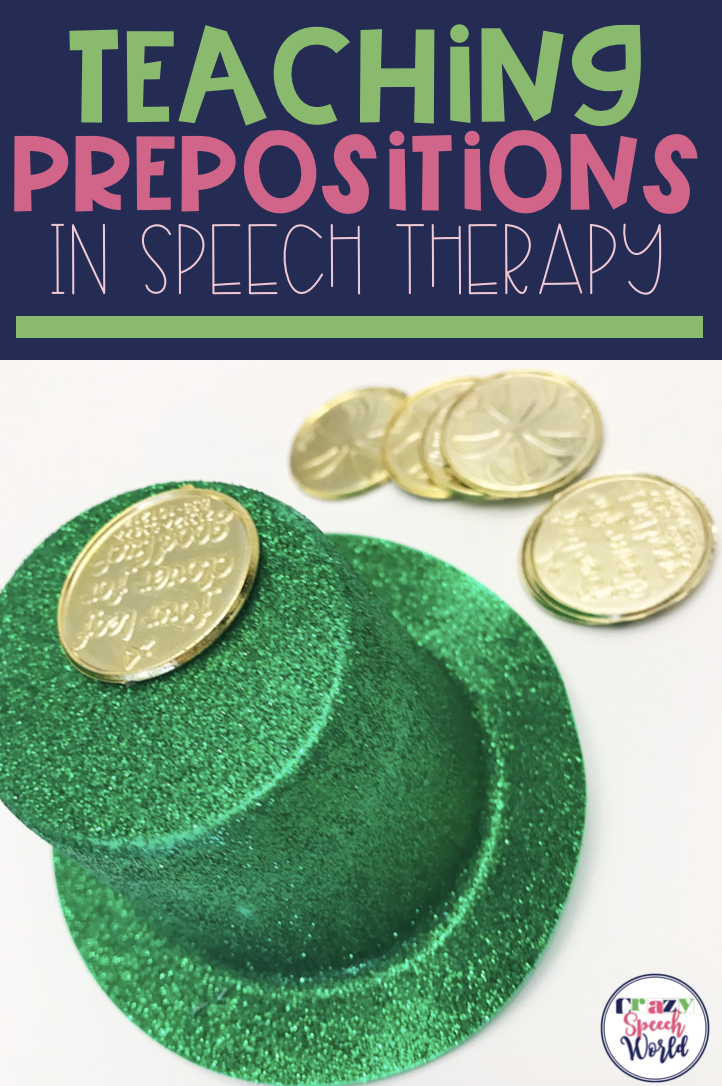 Creatively use themes to teach prepositions in speech therapy!