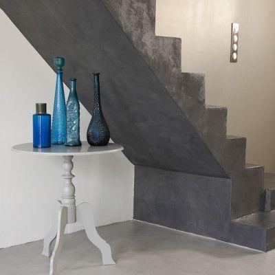 R sultat de recherche d 39 images pour idee deco salon beton - Escalier beton lisse ...