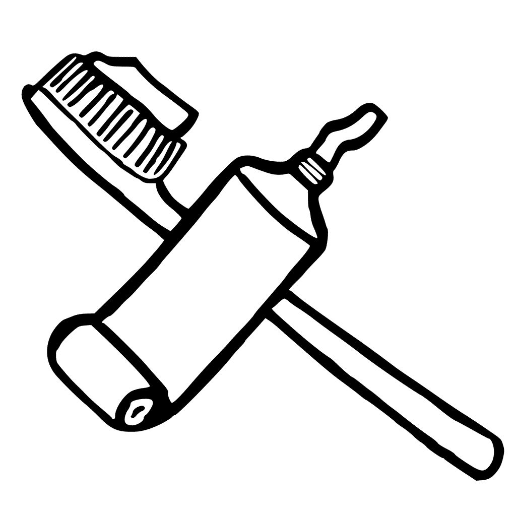 Toothpaste Coloring Toothpaste Colors Color Coloring Pages