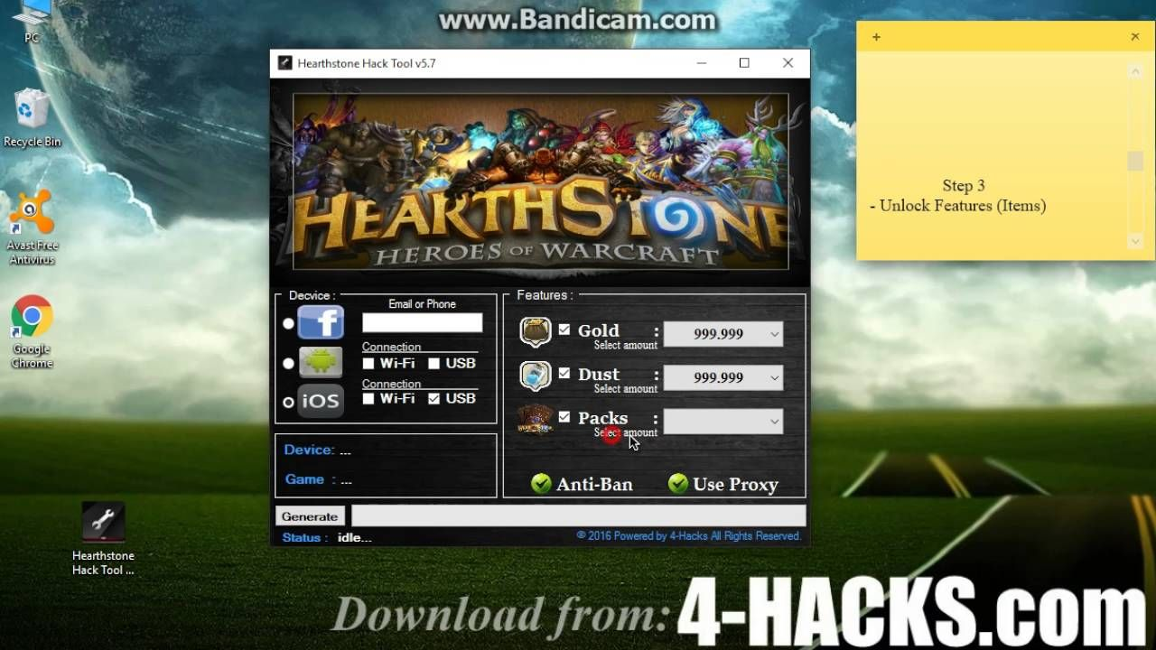 How to Hack Hearthstone Free & Easy (Tutorial all Steps) | Games