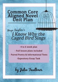 I Know Why The Caged Bird Sings Angelou Literature Guide Ccss  This I Know Why The Caged Bird Sings Common Core Aligned Autobiography Unit  Would Make A Excellent Study For Womens History Month Middlehigh School Proposal Argument Essay Topics also Example Of A Proposal Essay  Online Writing Gigs