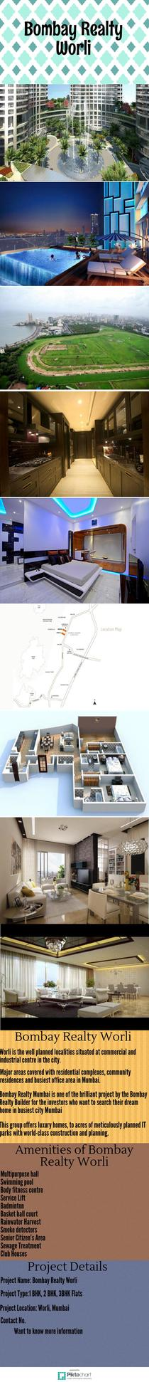 Bombay Realty Worli | Piktochart Infographic Editor