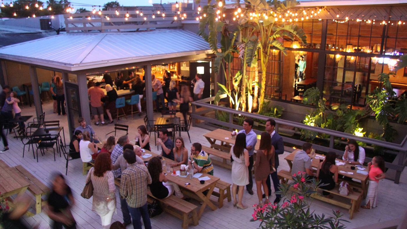 Indoor dining? That's so last season. Here's where to dine outside all across the U.S.