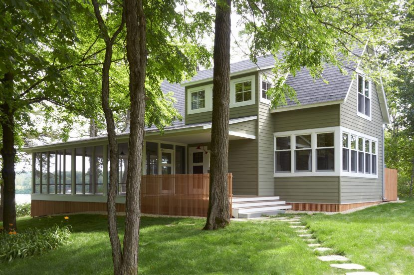 Small Lake House Plans Luxury Modern With Rear Screened Porch Elegant Bungalow Home Interior Ide Small Lake Houses Lake House Plans Small Craftsman House Plans