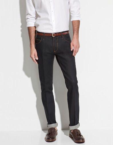 7ae41fc8 BLACK TAG WAXED JEANS - Jeans - Man - ZARA   style   Zara, Jeans, Pants