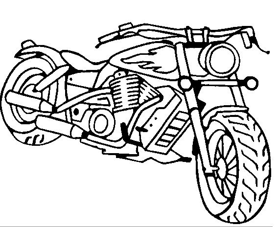 motorcycle coloring pages 3 riding racing bicycle