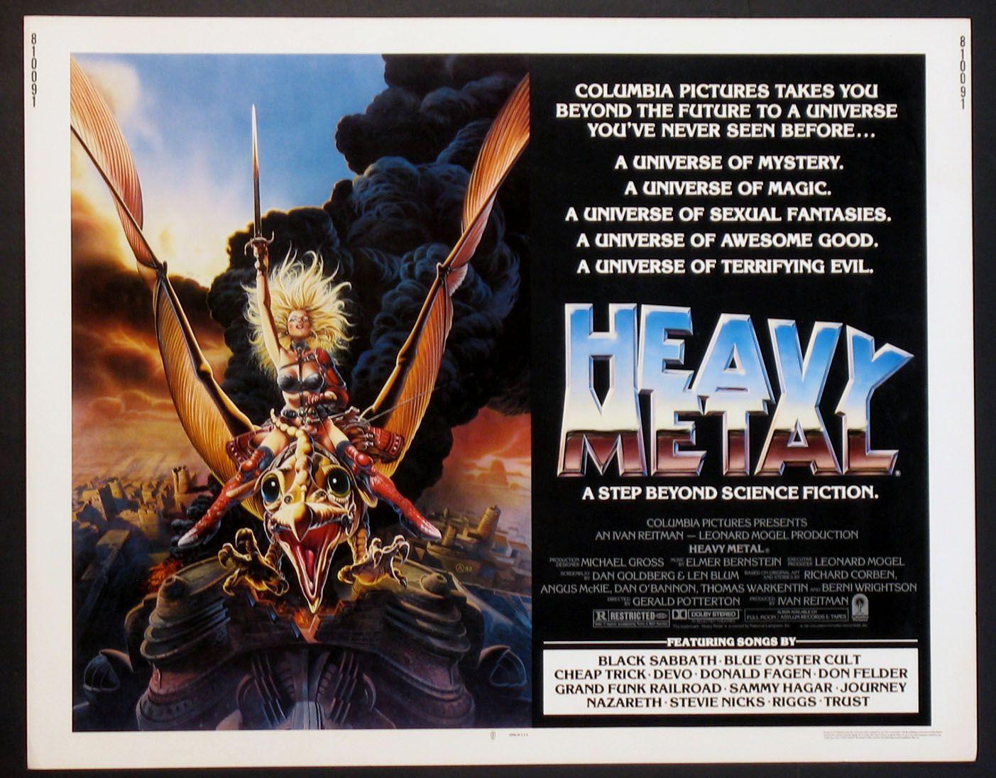 heavy metal movie poster 1981 heavy