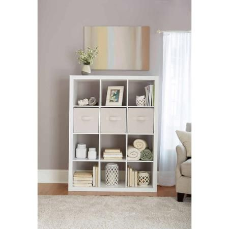 Better Homes And Gardens 12 Cube Storage Organizer Multiple