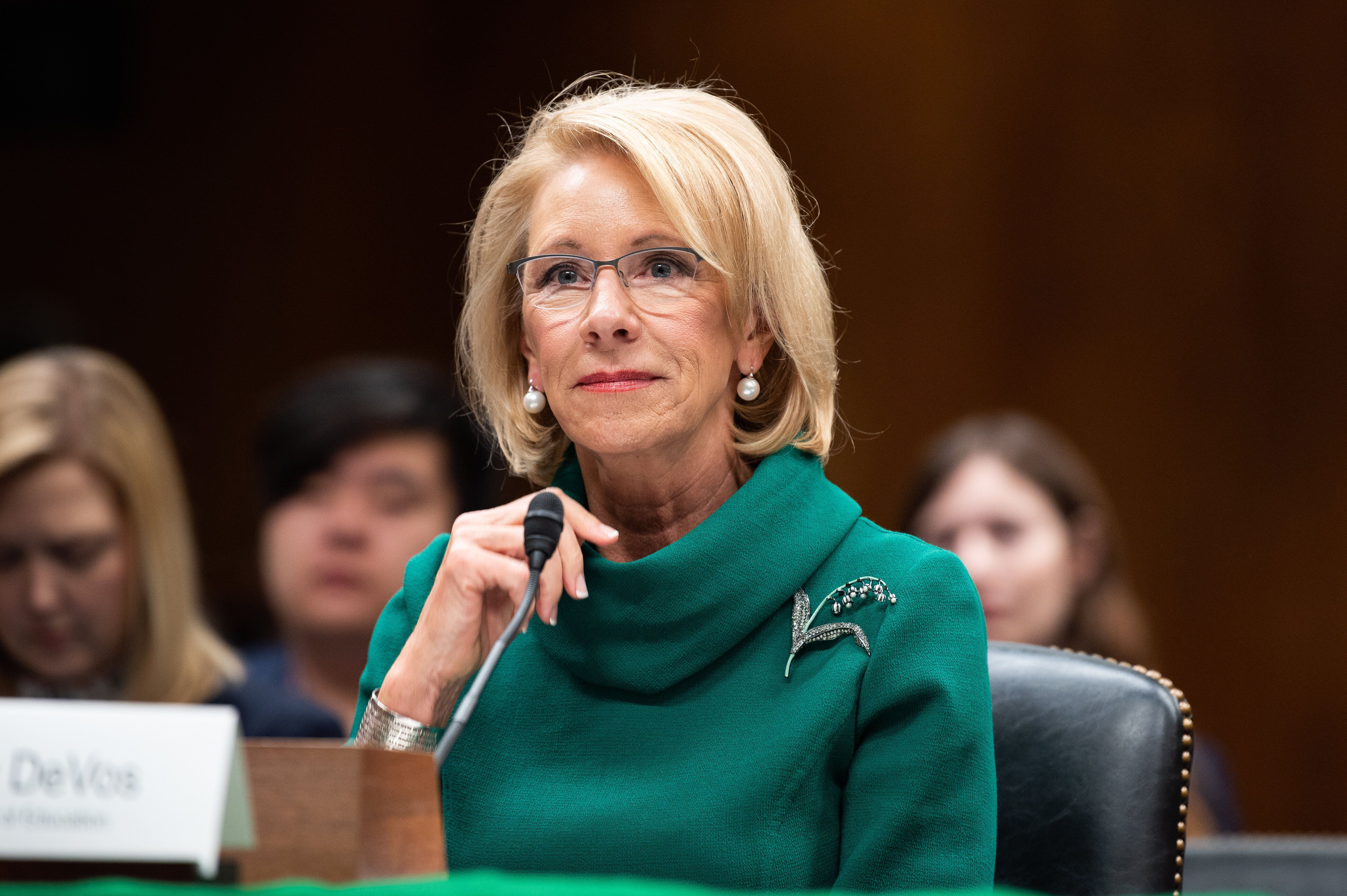 Group Asks Congress To Investigate If Betsy DeVos Is Tied