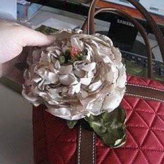 Fabric Flower Peony {tutorial}