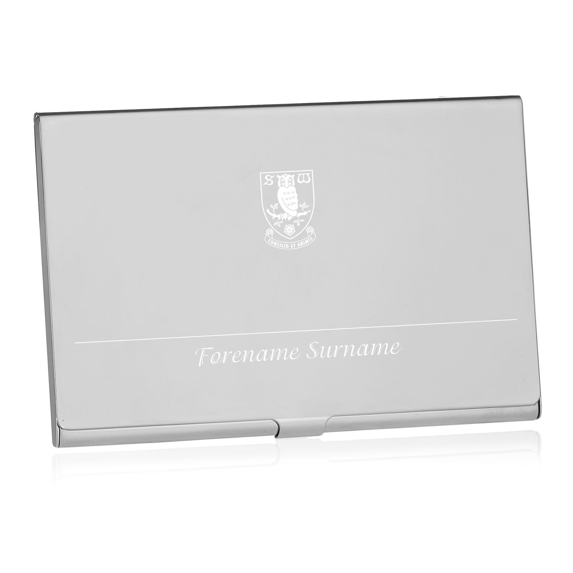 Sheffield Wednesday FC Executive Business Card Holder | Personalised ...