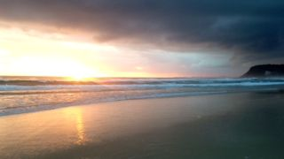 First light #BurleighHeads  Photo by Kate Alexandra