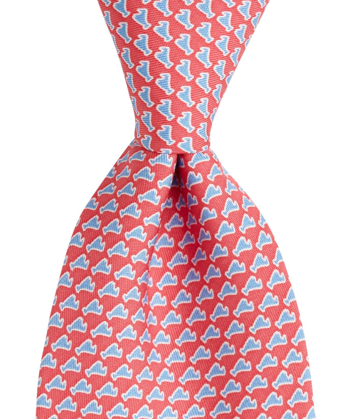 Men's Ties: Martha's Vineyard Printed Silk Tie for Men – Vineyard Vines