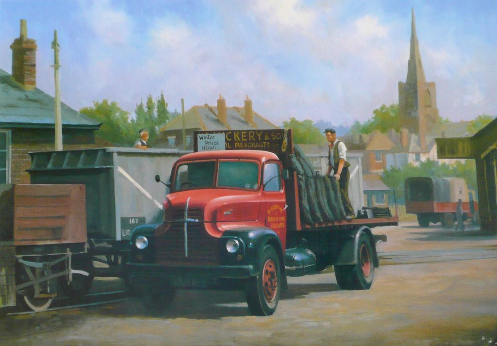 Mike Jeffries TRANSPORT ARTIST