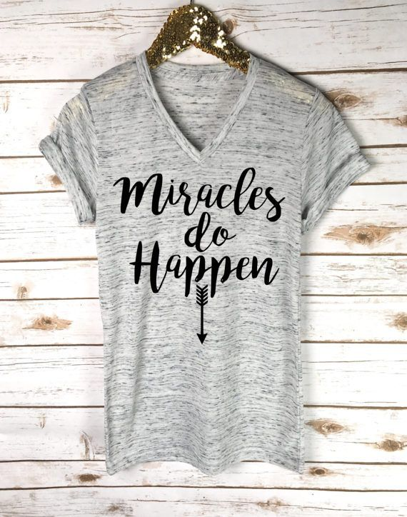 a5b3dcc60d4fd Pregnancy Announcement Shirt Miracle Pregnancy Shirt | Pregnancy ...