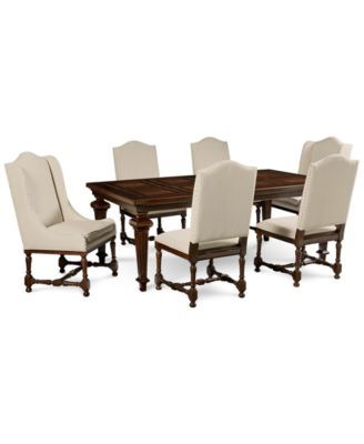 Cortwright 7 Piece Dining Set Expandable Dining Table 4 Side Inspiration 2 Piece Dining Room Set Review