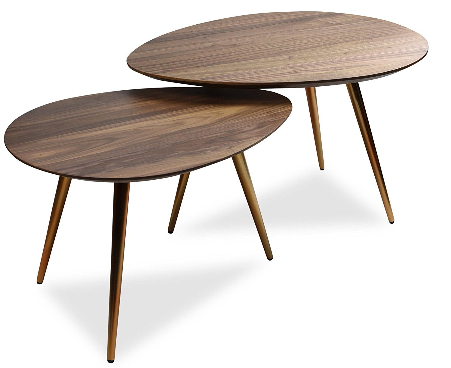 Amazon Com Edloe Finch Small Coffee Table Mid Century Modern