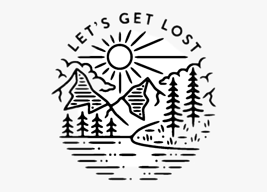 Download And Share Sunny Clipart Forest Let S Get Lost Sticker Png Cartoon Seach More Similar Free Transparent Cliparts C Lets Get Lost Clip Art Let It Be