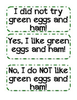 GRAPHING GREEN EGGS AND HAM