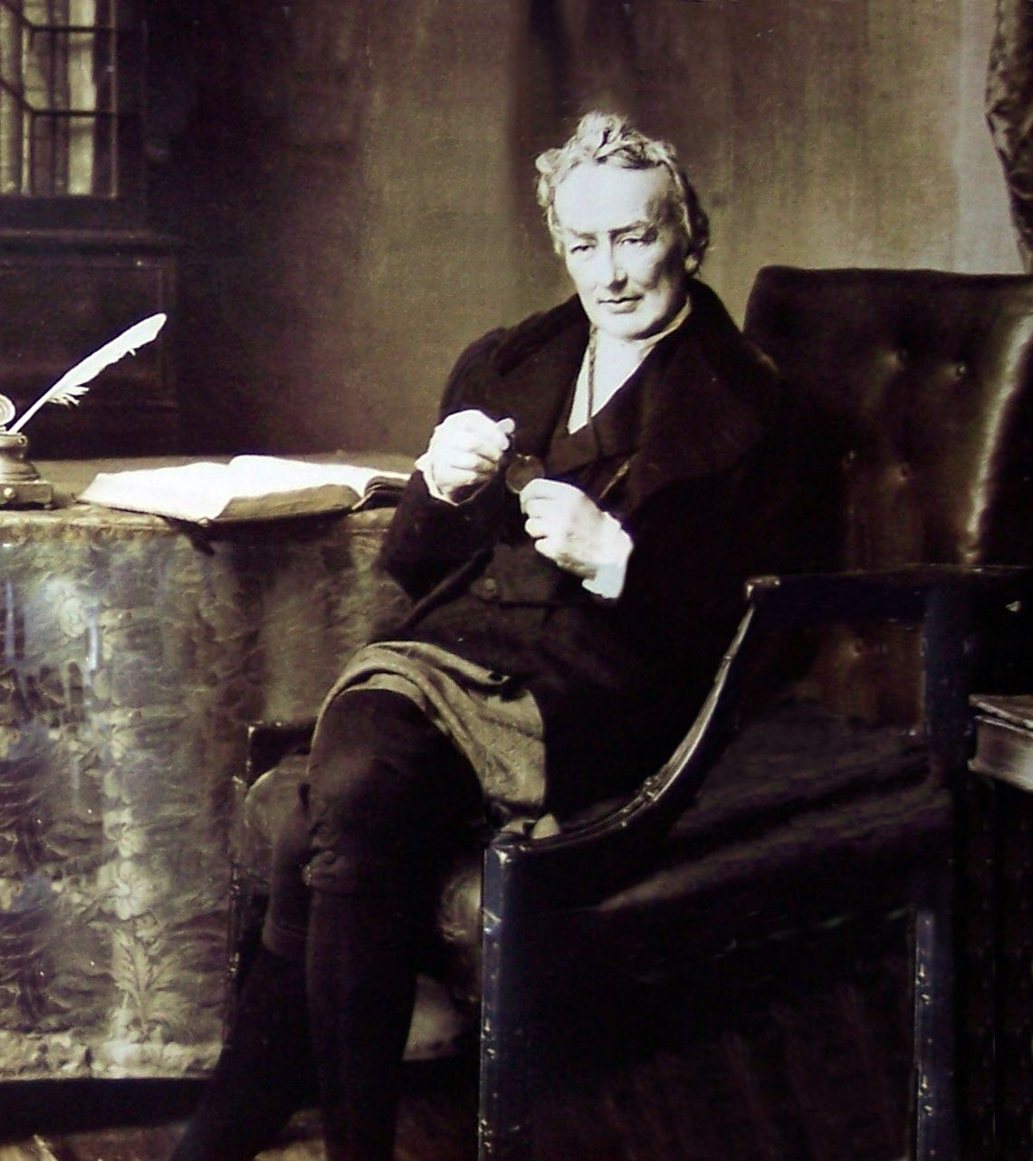 in the unlikeliest place-William Wilberforce.  Fought, as a member of British Parliament, to abolish the slave trade for 18 years before succeeding in 1807.