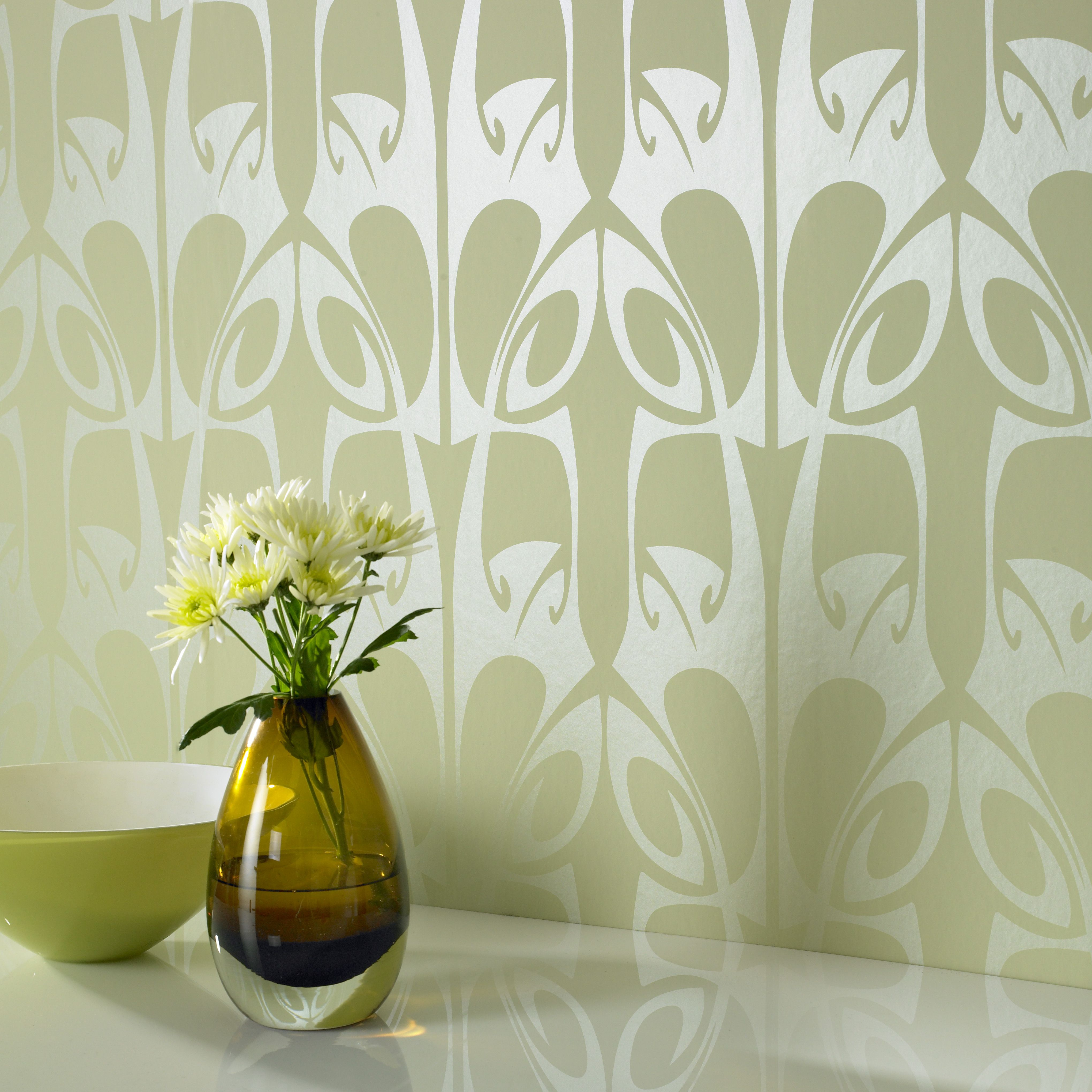 Our Collection Of Geometric Wall Coverings And Large Pattern Wallpaper Online Graham Brown Barbara Hulanicki