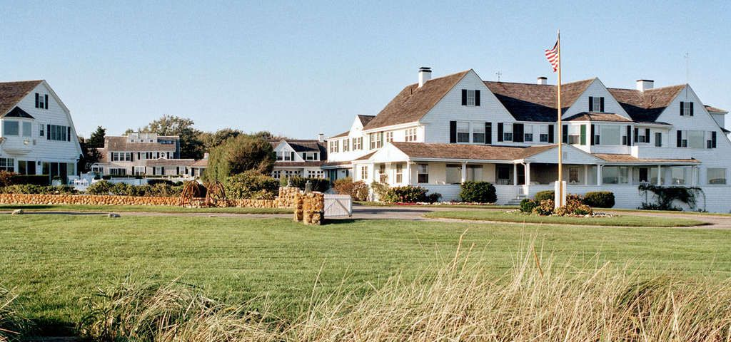 The Kennedy Compound Or Hyannis Port Historic District Is