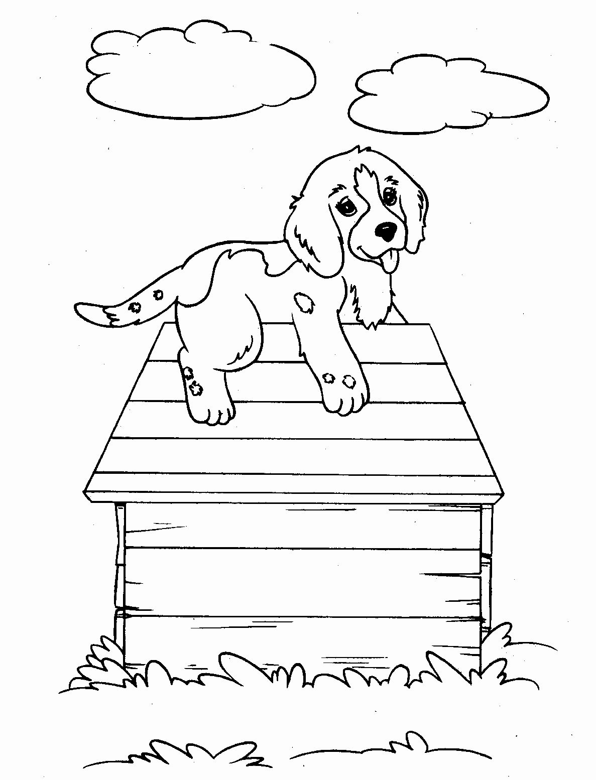40 Coloring Pages Of Puppies In 2020 Dog Coloring Page Puppy