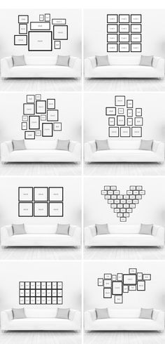 Wandgestaltung Wohnzimmer 20 Kreative Wanddeko Ideen Bilder
