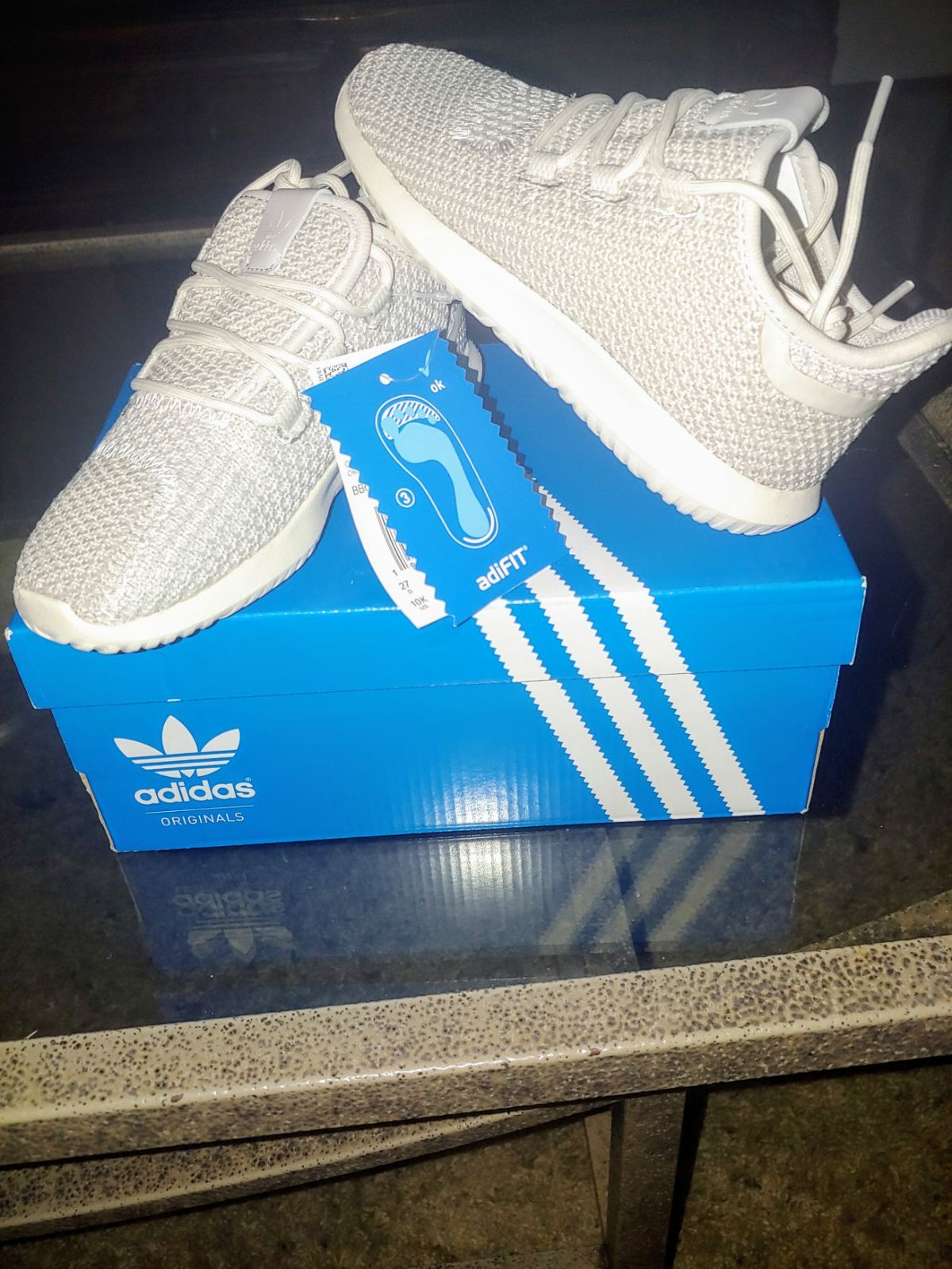 Brand new never worn toddler boy Adidas