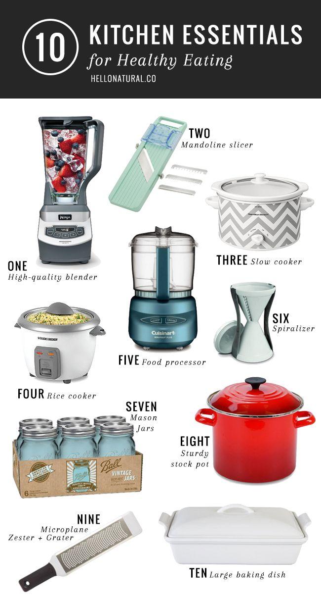 10 Best Healthy Kitchen Tools   Kitchens, Kitchen gadgets and ...