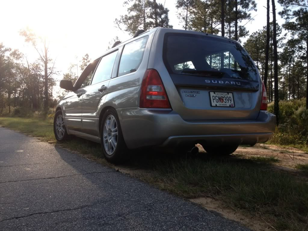 Sti springs on kyb strut page 4 subaru forester owners forum