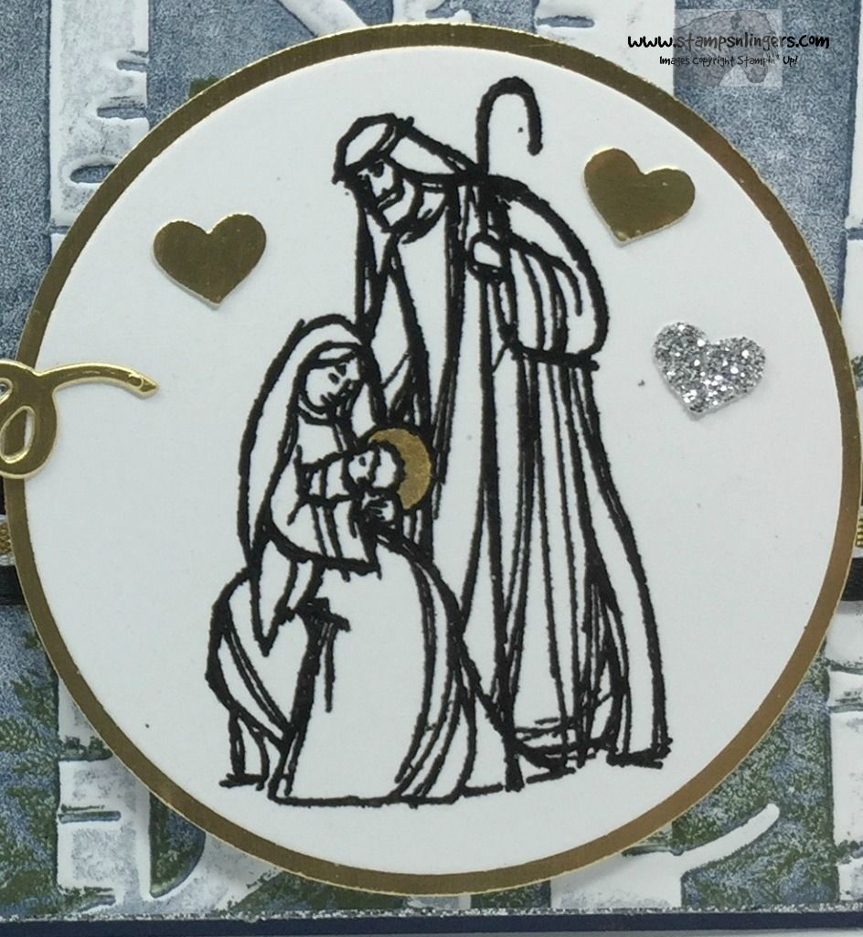 Stampin' Up! Wonderland Blessing for the Happy Stampers ...