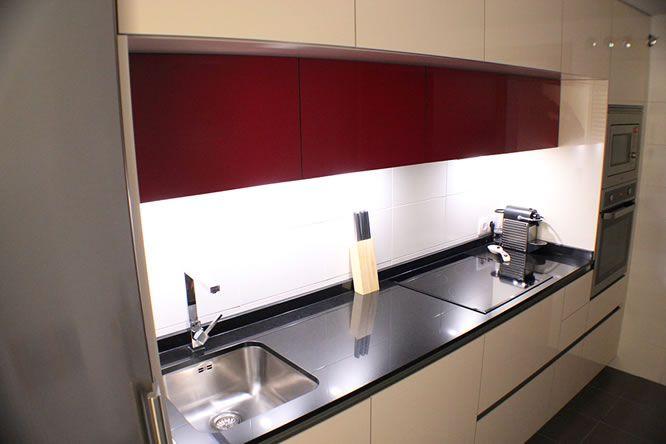 Campanas integradas linea3cocinas dise o de cocinas - Cocinas de diseno en madrid ...