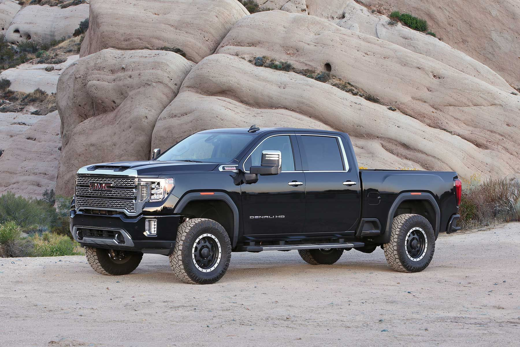 2020 Gmc Denali Hd Equipped With A Fabtech Leveling Kit In 2020