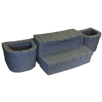 Aquarest Spas Deluxe Storage Step With Planters Hot Tub Accessories Hot Tub Steps Pool Hot Tub
