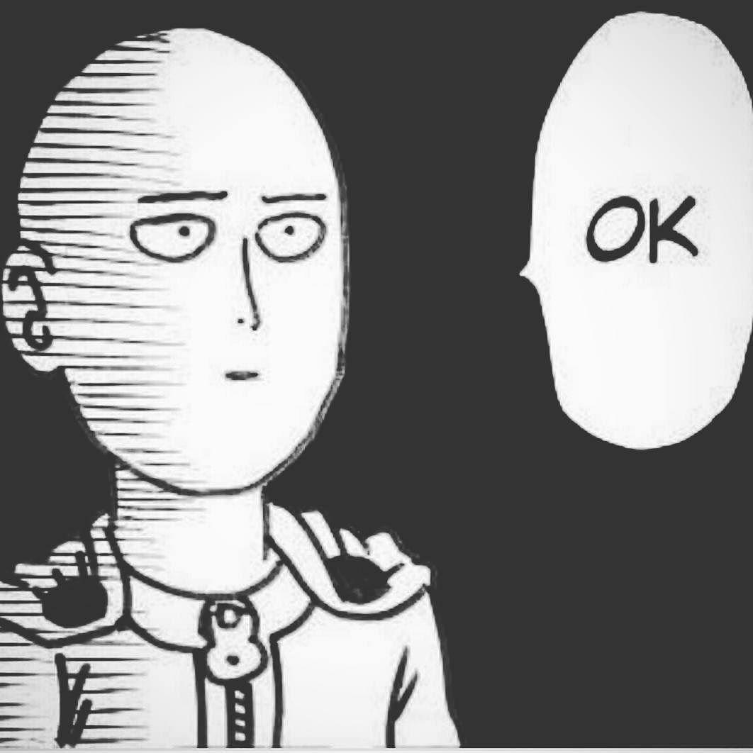 Mathematical Yogi On Instagram My Reaction To Complaining Customers Lol Saitama Ok Onepunchman One Punch Man Anime One Punch Man Manga One Punch Man