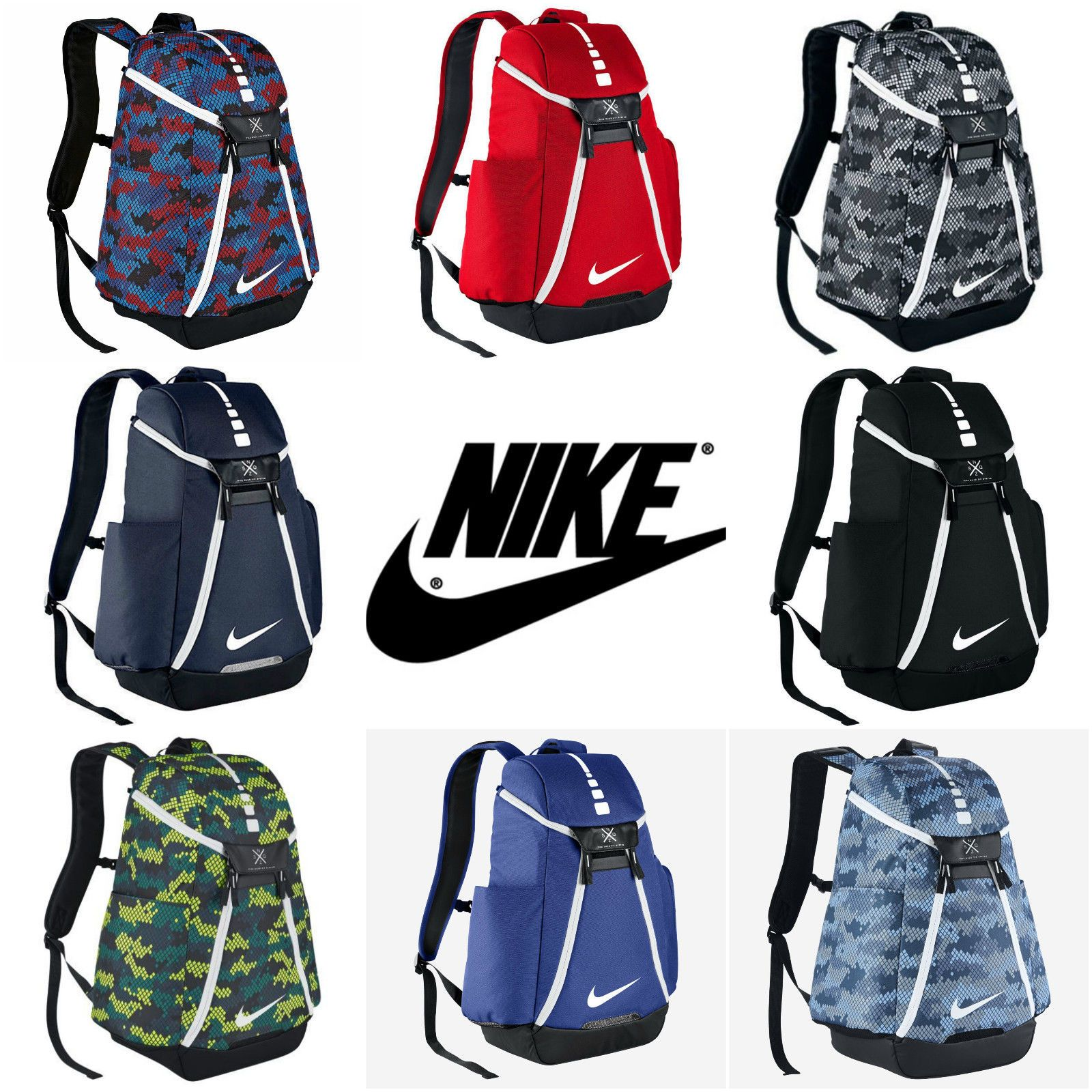 154d9258b0 Nike Hoops Elite Max Air Team 2.0 Graphic Basketball Backpack | Ebay ...