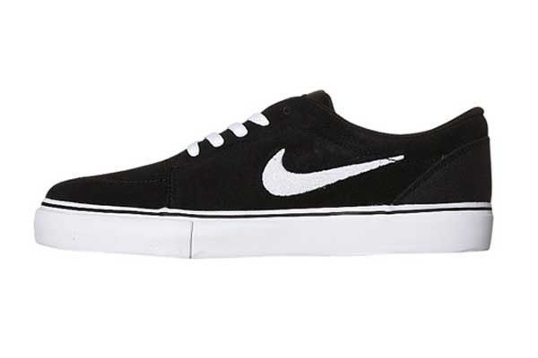 $71 + free shipping| Nike Satire Skate Men's Black suede Skate Shoes 536404-010 NIB Authentic #Nike #AthleticSneakersSkateboarding