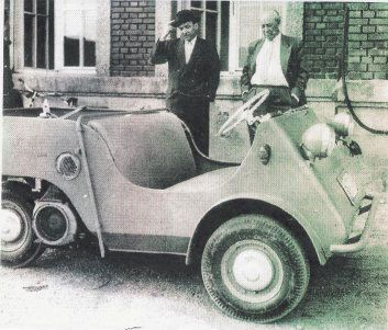 1955 BMW Isetta Jagdwagen. The chassis and running gear are all ...