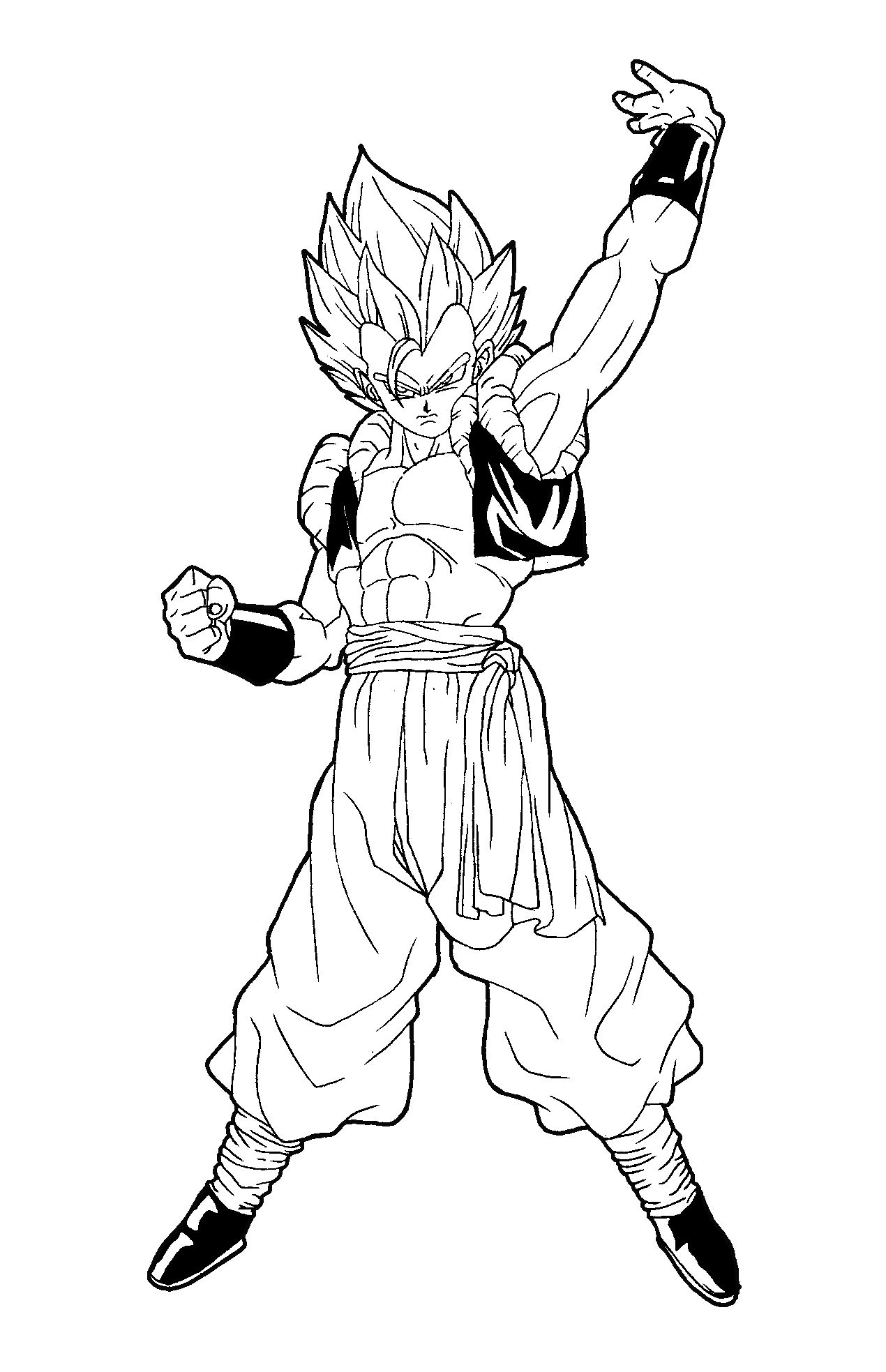 Dragon Ball Z Coloring Pages Coloring books, Coloring