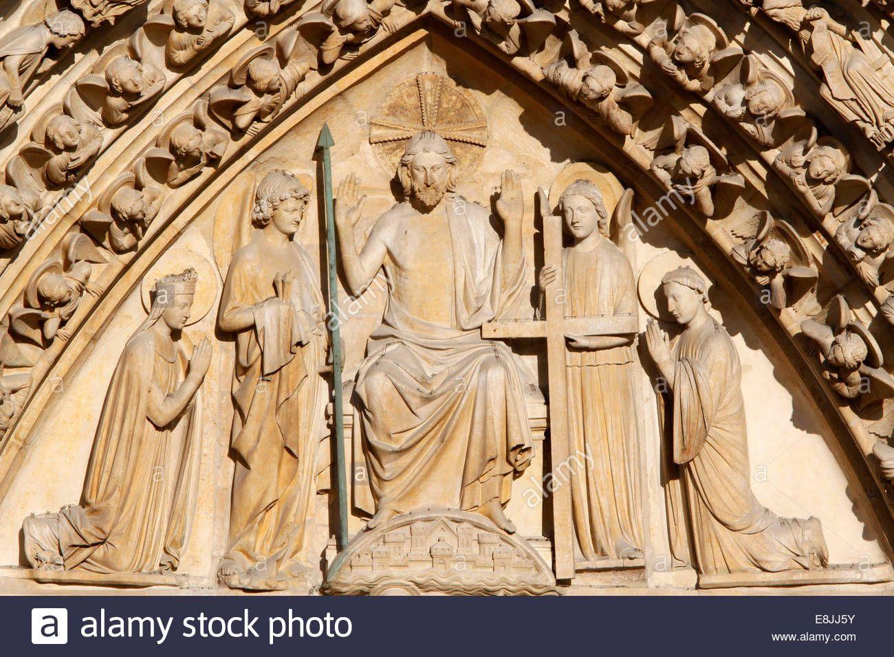 notre-dame-de-paris-cathedral-portal-of-the-last-judgment-tympanum-E8JJ5Y.jpg (1300×956)