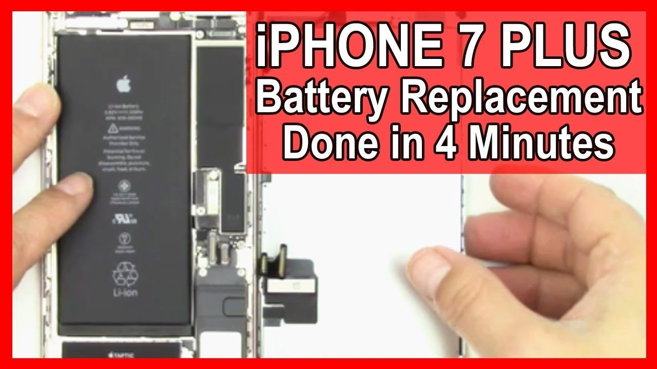 How to replace the battery in your iphone 7 plus in 4