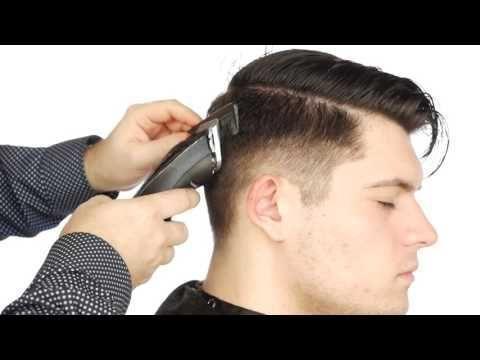 Mittlere Haut Verblassen Tutorial Haarschnitt Faded Hair