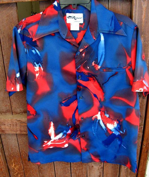 Vintage TORI RICHARD Hawaiian Aloha Shirt by retrosideshow on Etsy, $90.00