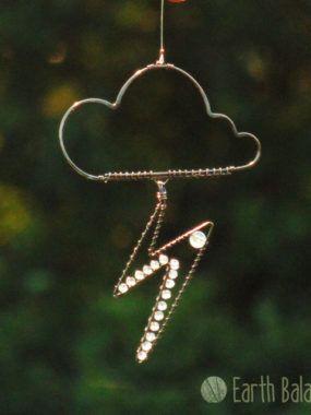 Rain Cloud Hanging Decoration Wire