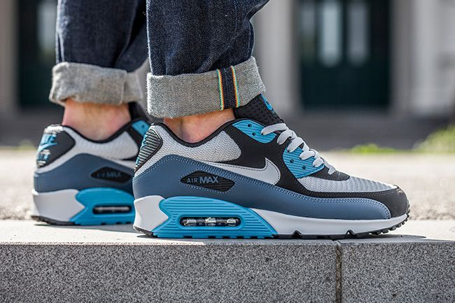 new product 3bccd ed266 Sneaker Central - NIKEÂ AIR MAX 90  SQUADRON  - Foot Locker