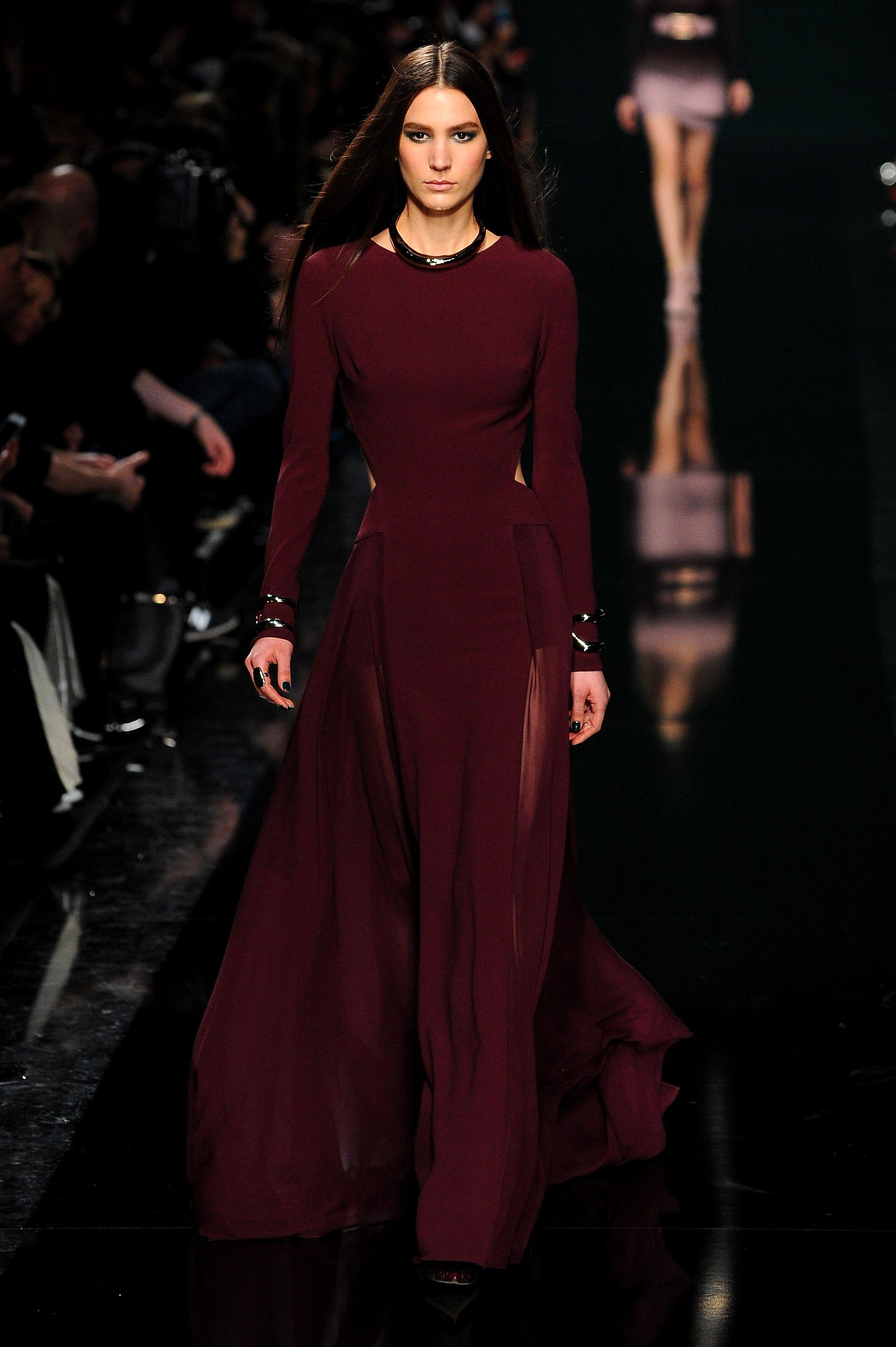Elie Saab   Runway – Paris Fashion Week Womenswear Fall Winter 2014-2015 ce7c97339
