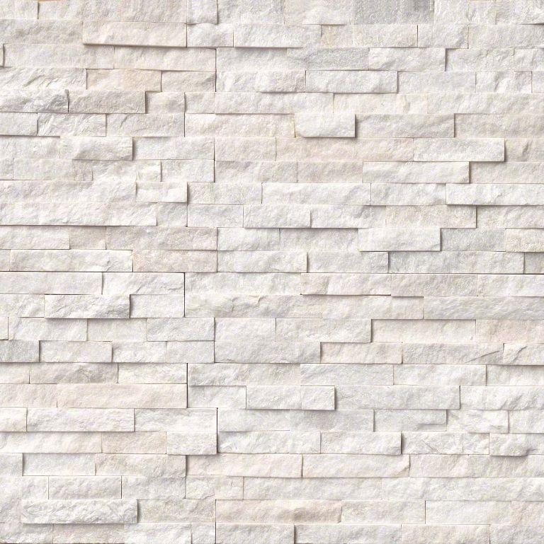 Arctic White 6x24 Ledger Panel Split Face In 2019 My