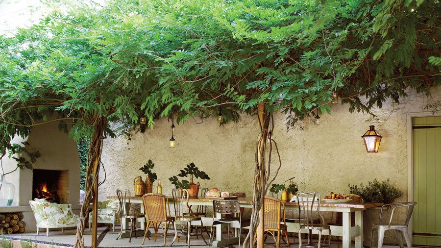 Warm Up Your Patio With Images Covered Pergola Outdoor