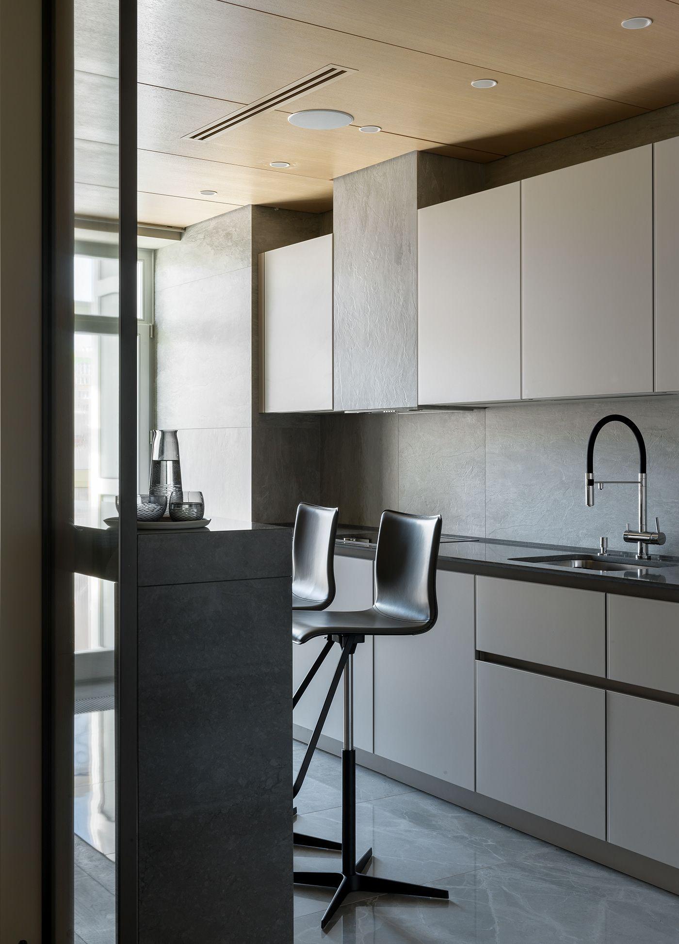 Nordic apartments on Behance Интерьер, Идеи интерьера